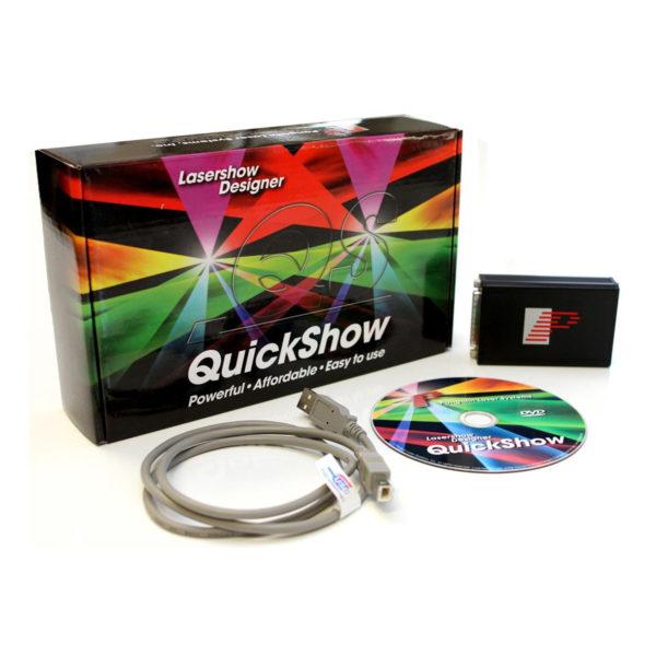 Laser Show - Quickshow - Software Completo Para Controle Lasers Animados Compatíveis com Ilda