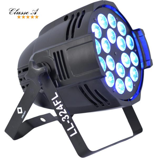 CANHÃO LED OPTPAR ULTRA POWER 6IN1 RGBWA+UV LL-324FL LED FULL