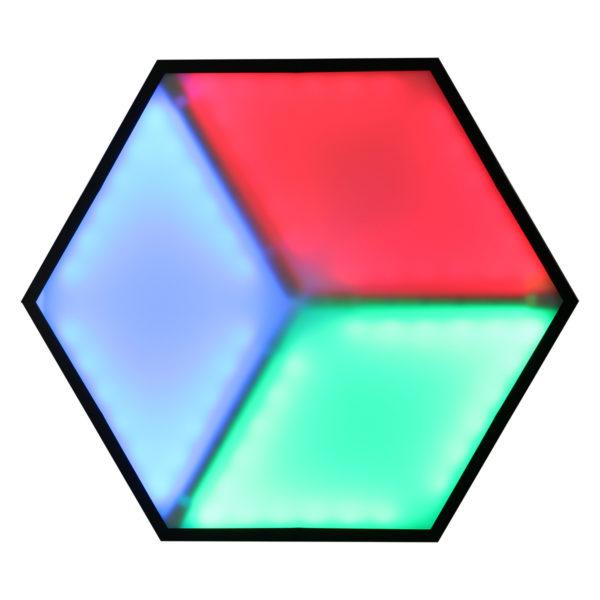 DJ STATION LED PAINEL RGB 3D LL-3DSLRGB 14 PLACAS