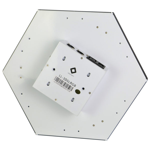 DJ STATION LED PAINEL RGB 3D LL-3DSLRGB 18 PLACAS