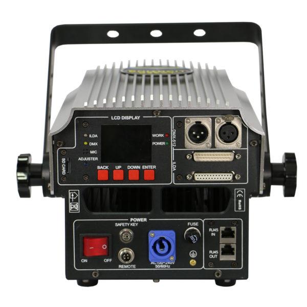 LL-4WLD RGB LASER SHOW PROFISSIONAL, LASER GRÁFICO, ANIMADO, ILDA PC CONTROL 4W RGB DIRECT DIODE
