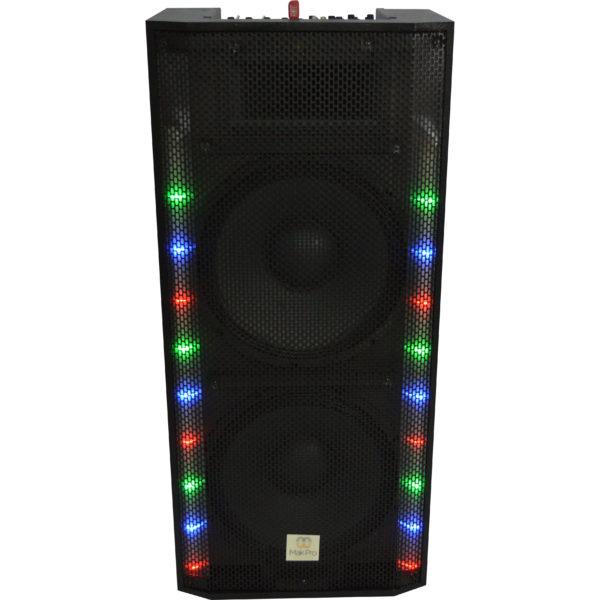 MK-DJ005 - CAIXA DE SOM + MIDEA PLAYER USB+SD
