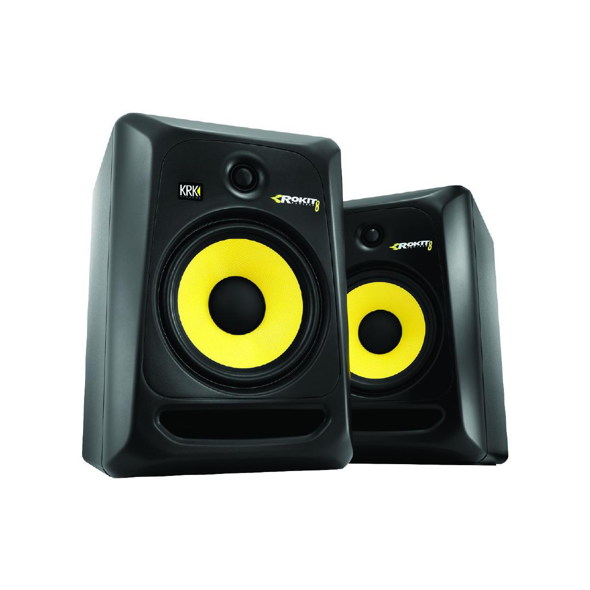 monitor krk rokit 8 g3 mak audio dj. Black Bedroom Furniture Sets. Home Design Ideas