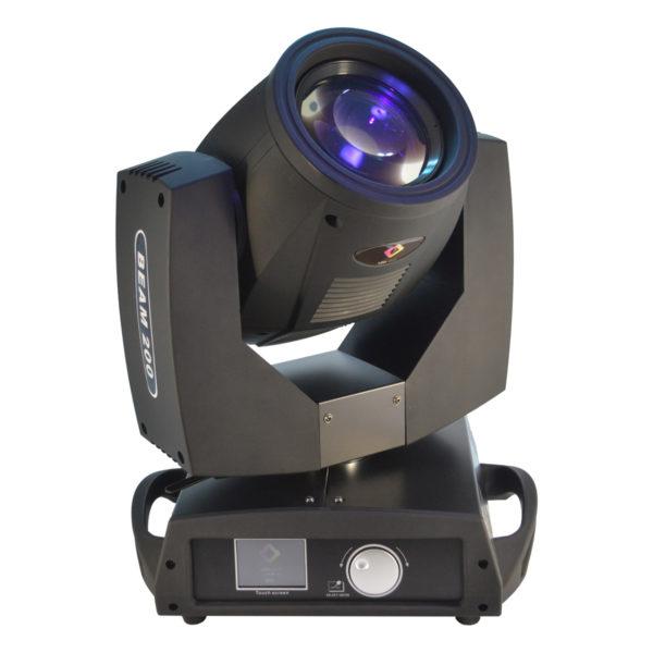 Moving Head Beam 200 5R Touch 16/20Ch Dmx Par No Case LL-200MB