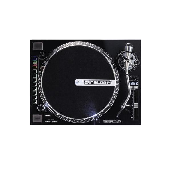Reloop Rp 8000 Toca Discos + Mid Control