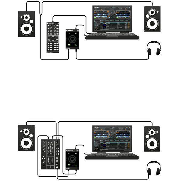 Native Áudio 2 Mk2 - Placa de Áudio Usb 2 Canais