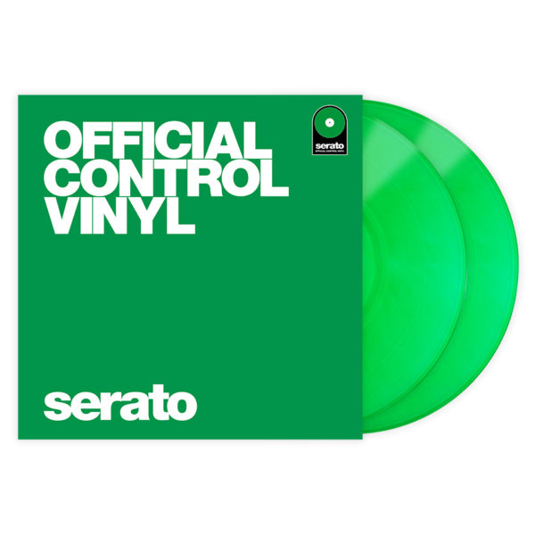 SERATO TIME CODE PERFORMANCE SERIES 12 CONTROL VINYL GREEN (PAR)